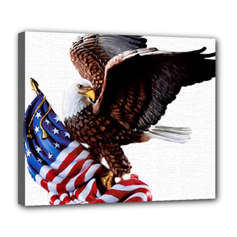 Independence Day United States Deluxe Canvas 24  x 20