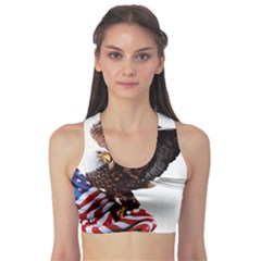 Independence Day United States Sports Bra