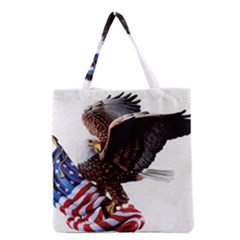 Independence Day United States Grocery Tote Bag