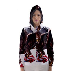 Independence Day United States Hooded Wind Breaker (Women)