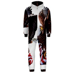 Independence Day United States Hooded Jumpsuit (Men)