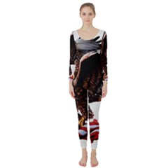 Independence Day United States Long Sleeve Catsuit