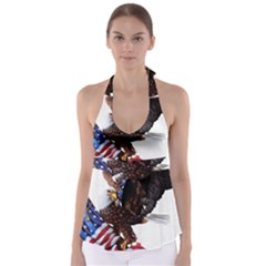 Independence Day United States Babydoll Tankini Top