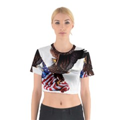 Independence Day United States Cotton Crop Top