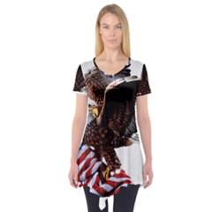 Independence Day United States Short Sleeve Tunic