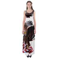 Independence Day United States Empire Waist Maxi Dress