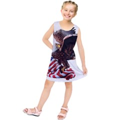 Independence Day United States Kids  Tunic Dress
