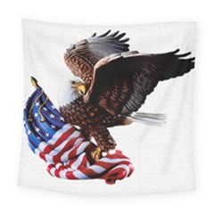Independence Day United States Square Tapestry (large)