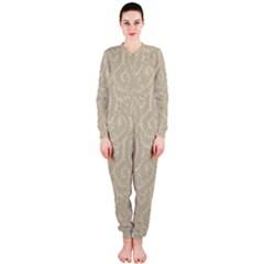 Leaf Grey Frame OnePiece Jumpsuit (Ladies)