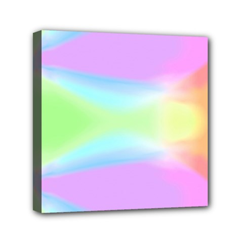 Abstract Background Colorful Mini Canvas 6  x 6