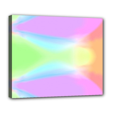 Abstract Background Colorful Deluxe Canvas 24  x 20