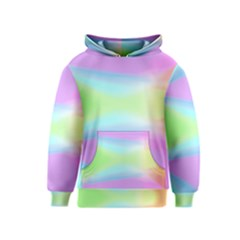 Abstract Background Colorful Kids  Pullover Hoodie