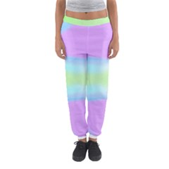 Abstract Background Colorful Women s Jogger Sweatpants