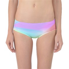 Abstract Background Colorful Classic Bikini Bottoms