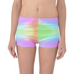 Abstract Background Colorful Reversible Bikini Bottoms