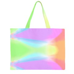Abstract Background Colorful Large Tote Bag