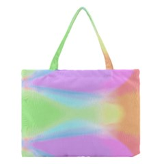 Abstract Background Colorful Medium Tote Bag