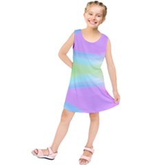 Abstract Background Colorful Kids  Tunic Dress