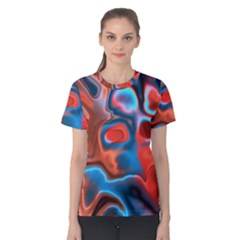 Abstract Fractal Women s Cotton Tee