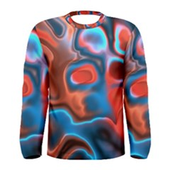 Abstract Fractal Men s Long Sleeve Tee