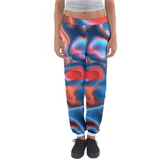 Abstract Fractal Women s Jogger Sweatpants