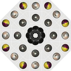 9 Power Buttons Folding Umbrellas