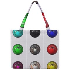 9 Power Buttons Mini Tote Bag