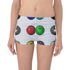9 Power Buttons Boyleg Bikini Bottoms