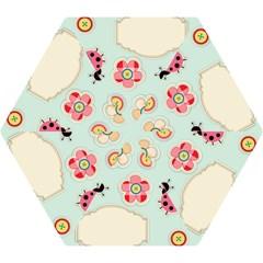 Buttons & Ladybugs Cute Mini Folding Umbrellas