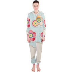 Buttons & Ladybugs Cute Hooded Jumpsuit (Ladies)