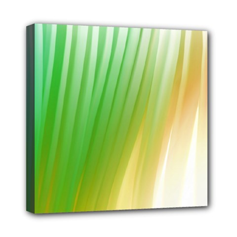 Folded Paint Texture Background Mini Canvas 8  X 8