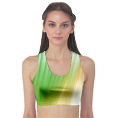 Folded Paint Texture Background Sports Bra