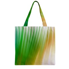 Folded Paint Texture Background Zipper Grocery Tote Bag
