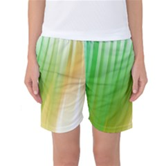 Folded Paint Texture Background Women s Basketball Shorts