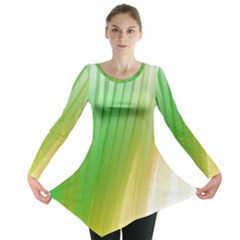 Folded Paint Texture Background Long Sleeve Tunic