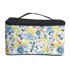 Flower Floral Bird Peacok Sunflower Star Leaf Rose Cosmetic Storage Case