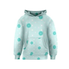 Star White Fan Blue Kids  Pullover Hoodie