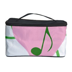 Sweetie Belle s Love Heart Music Note Leaf Green Pink Cosmetic Storage Case