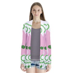 Sweetie Belle s Love Heart Music Note Leaf Green Pink Cardigans