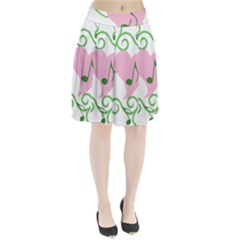 Sweetie Belle s Love Heart Music Note Leaf Green Pink Pleated Skirt