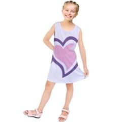 Sweetie Belle s Love Heart Star Music Note Green Pink Purple Kids  Tunic Dress