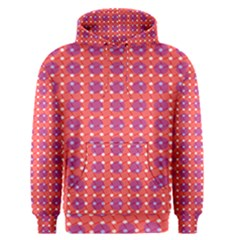 Roll Circle Plaid Triangle Red Pink White Wave Chevron Men s Pullover Hoodie