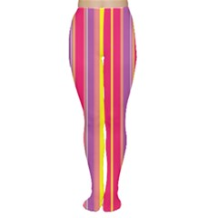 Stripes Colorful Background Women s Tights