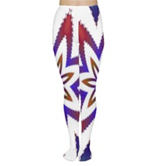 Fractal Flower Women s Tights