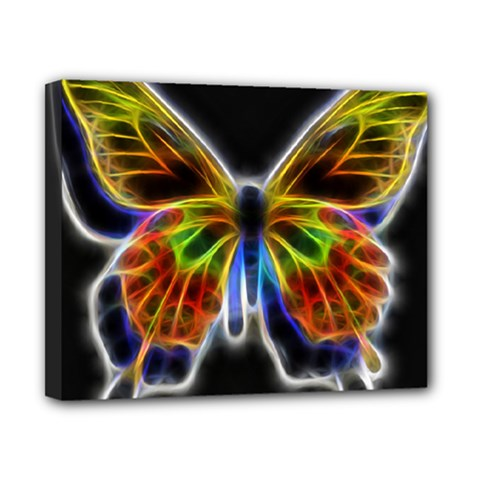 Fractal Butterfly Canvas 10  X 8