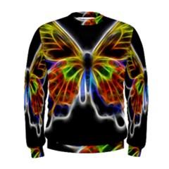 Fractal Butterfly Men s Sweatshirt