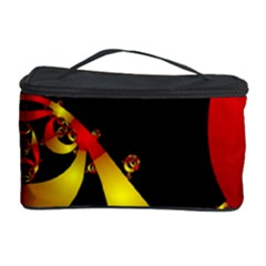 Fractal Ribbons Cosmetic Storage Case