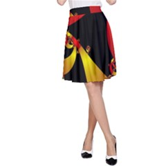 Fractal Ribbons A-Line Skirt