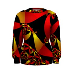 Fractal Ribbons Women s Sweatshirt