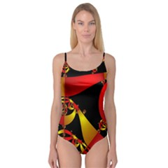 Fractal Ribbons Camisole Leotard